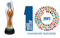 BIZZ Award 2014 for Quality Services -  Voxtab