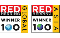 Red Herring top 100 Asia and